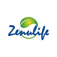 a logo for Zenulife, a skincare and stretch mark cream outlet